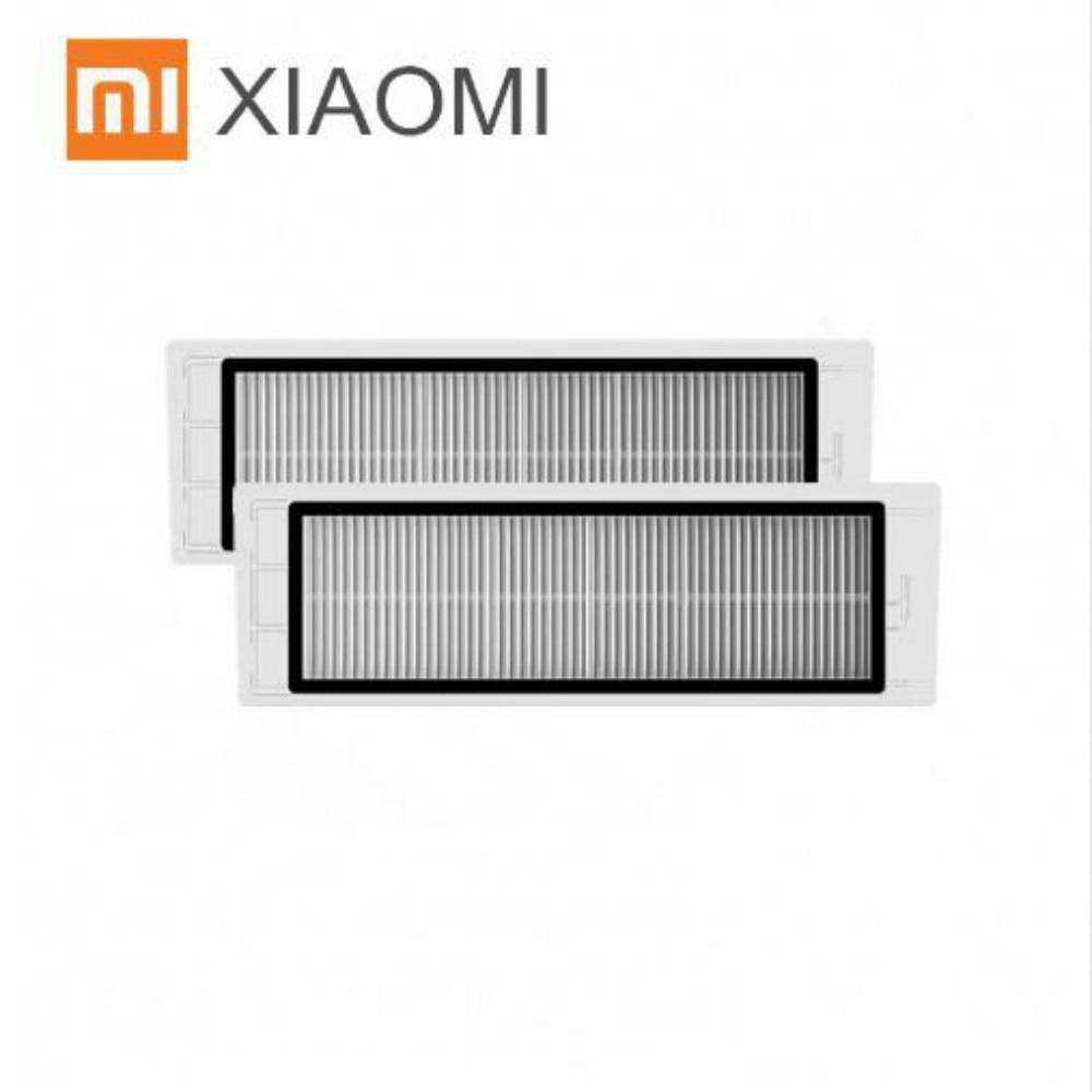 все цены на Robot Vacuum Cleaner Part HEPA Filter x 2 pcs for Xiaomi mijia /xiaomi roborock s50 roborock 2