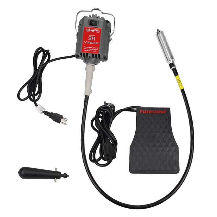 Foredom SR flexshaft machine dental polishing motor flexible shaft machine watch engraving burnishing grinding rotary tool