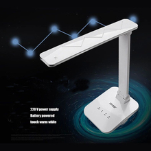 Rechargeable Portable Adjustable Desk Lamps  led Table Lamp  foldable color temperature changeable with touch dimmer