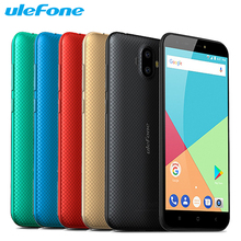 Original Ulefone S7 Mobile Phone 5.0 inch Screen 1GB RAM 8GB ROM MTK6580A Quad Core Android 7.0 Dual Cameras 2500mAh Smartphone