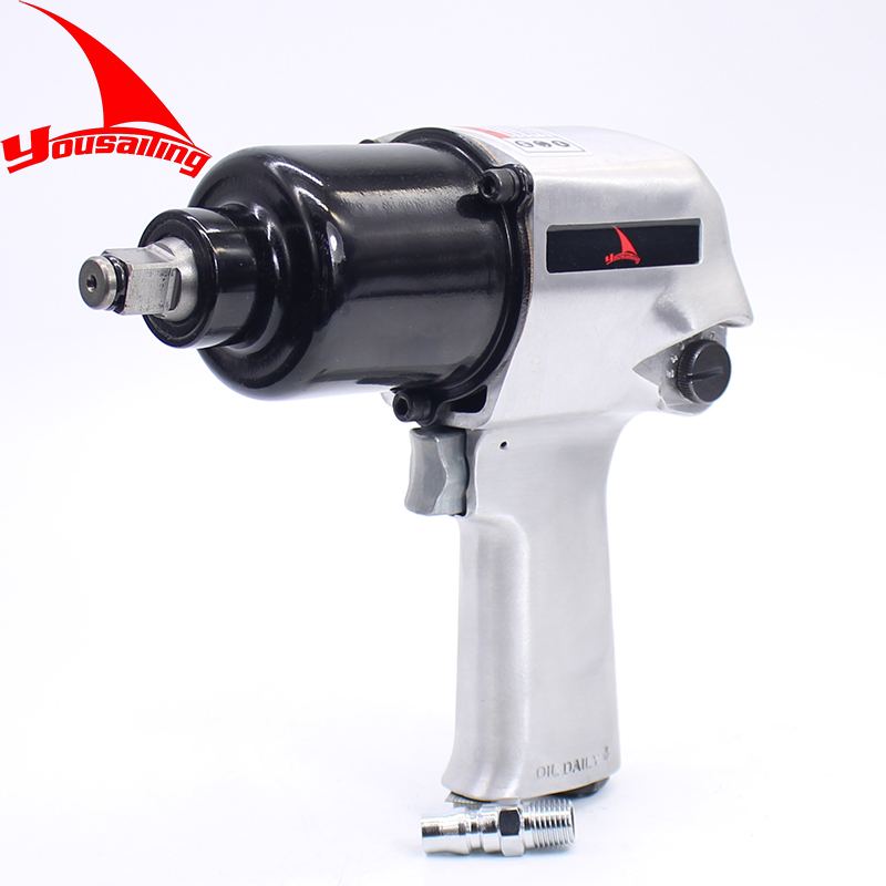 High Quality Heavy Duty 1/2 Inch Pneumatic Torque Wrench Tool Air Impact Wrench 72KG pneumatic impact wrench 1 2 pneumatic gun air pressure wrench tool torque 450ft lb