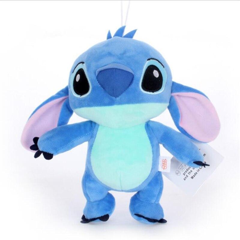 Oyuncaklar ve Hobi Ürünleri'ten Doldurulmuş ve Peluş Hayvanlar'de 12 adet/grup 20 cm Kawaii Dikiş Peluş oyuncak bebekler, Anime Lilo ve Stitch peluş oyuncaklar Çocuklar için En Iyi Noel hediye oyuncaklar'da  Grup 1