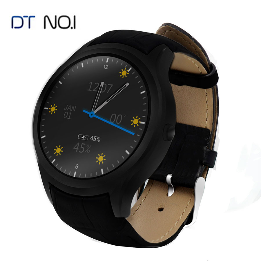 NO.1 D5+ Smart Watch Android Wristwatch Phone Heart Rate Monitor GPS Bluetooth Smartwatch For Men and Women Wearable Devices