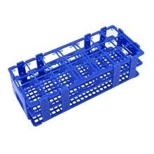 Blue Plastic 21 Holes Box Rack Holder for 50ML Centrifuge Tubes