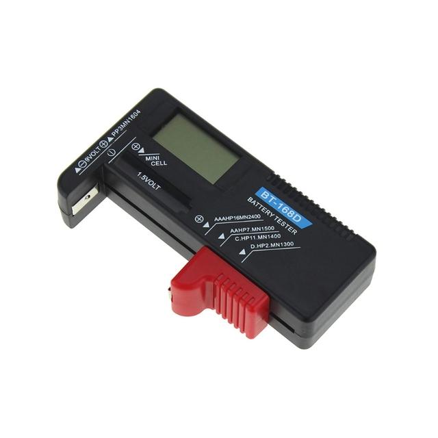 Universal Digital Button Cell Battery Volt Tester
