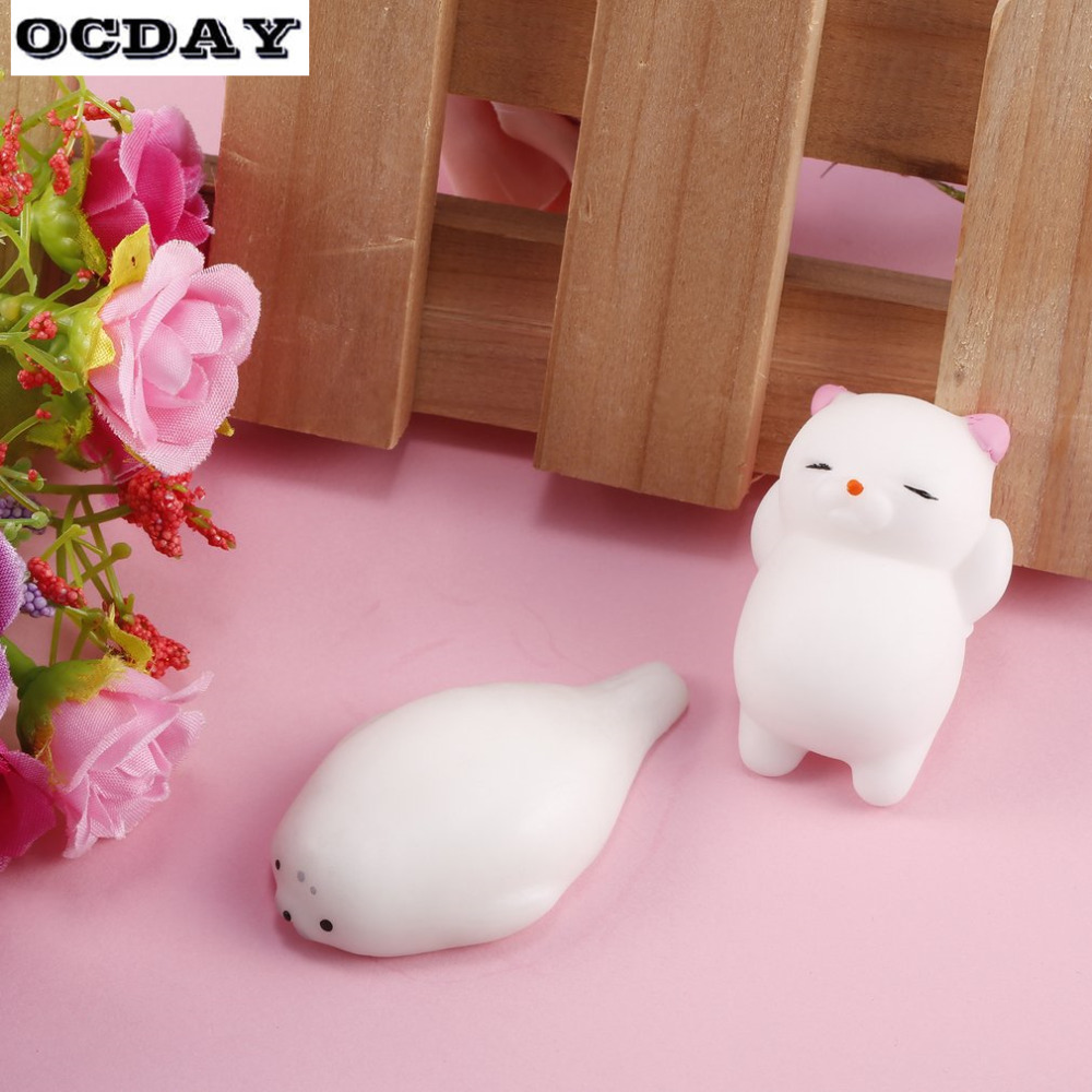 Rapture Cute Rabbit Fun Antistress Anti-stress Squeeze Ball Toy Emotion Vent Ball Resin Doll Stress Reliever Toy Phone Straps Wide Varieties Cellphones & Telecommunications
