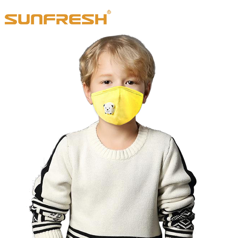 Anti-Pollution Mouth Mask Activated Carbon Children&Adult Mouth Dust Mask Anti-dust Single Valve Dustproof Running Sports Mask
