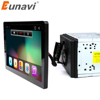 Eunavi 10 1 2 Din Quad Core 2G RAM Android 7 1 Universal Car Radio GPS