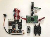2 HDMI + VGA DP + Audio 4 K LCD controller board ondersteuning innolux v420dk1-ks1 rev. C9 42 inch 4 K lcd-scherm met 3840*2160