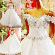 kejiadian Vestido De Noiva court Train Wedding Dress gown