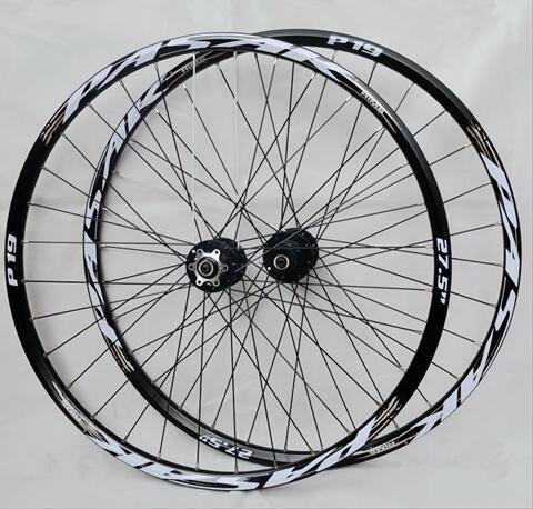 PASAK P01 26 pouces vtt vélo de montagne CNC avant 2 arrière 4 roulements scellés roues à disque jante 27.5 29 - 4