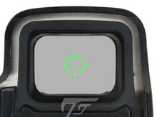 JJ Airsoft XPS 3 2 punto rojo/verde, soporte QD (negro/Tan) Buy One Get One FREE Killflash / Kill Flash