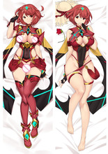 Anime Cartoon Xenoblade Chronicles Double-sided Hugging Pillow Case Pillow Cover Pillowcase Peach Skin 2 Way 810094