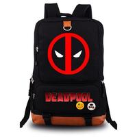Deadpool Student Bag Flat Package Tourism Both Shoulders Package men women Backpack