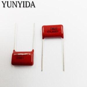 Бесплатная доставка; набор из 10 шт., CBB 474J 400V 0,47 мкФ 474NF P15mm Металлизированный пленочный конденсатор с алюминиевой крышкой, 400V474J 474 400V