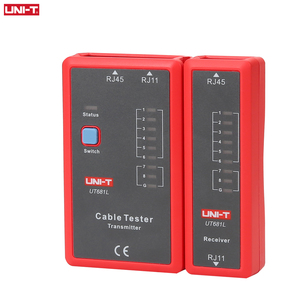 Image 4 - Probador de Cable UNI T UT681L HDMI, rastreador LAN, red automática, probador LED, Ethernet, teléfono, BNC, HDMI, herramienta de reparación