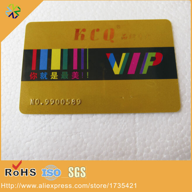 Efficient 125khz Low Frequency Em4200/em4300/em4305/t4100 Number Embossed Plastic Rfid Vip Card Back To Search Resultsoffice & School Supplies