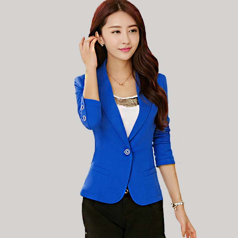 Compare Prices On Womens Blue Blazer- Online Shopping/Buy ...