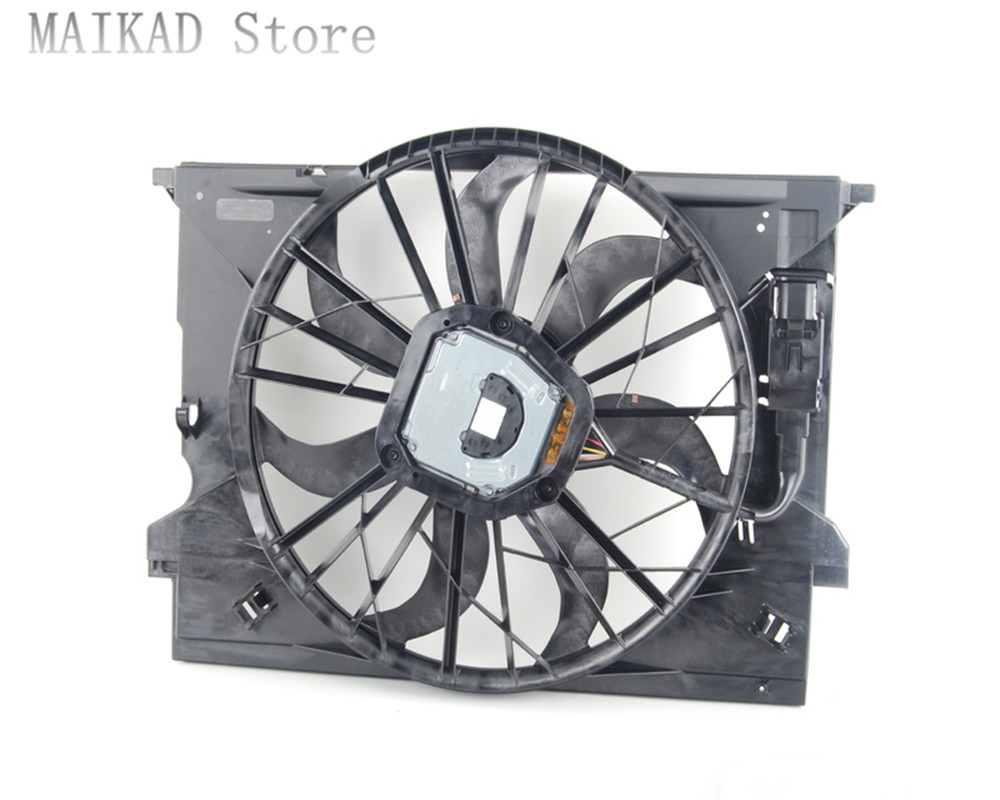Engine Cooling Radiator Fan Motor for Mercedes Benz C219 CLS320 CLS280 CLS350 CLS300 CLS500 CLS550 CLS55 CLS63 A2115001693