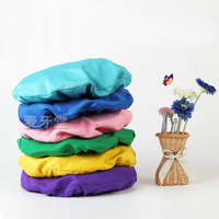 1set High Quality And High Elastic Dental Chair Cover Dentist Stool Cover 4pcs Kit 6 Color