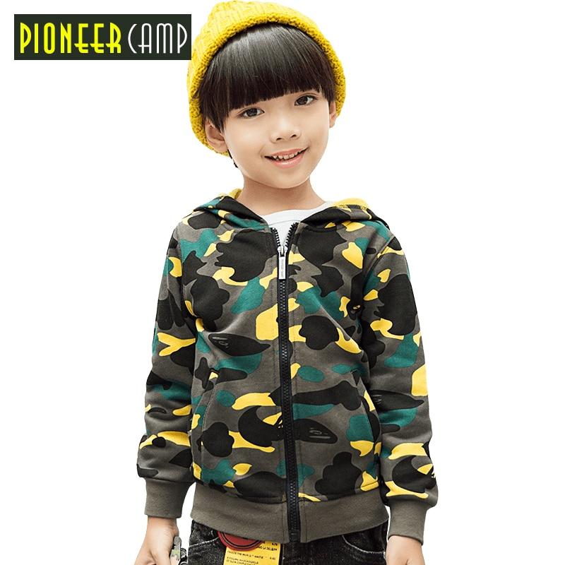 Пионерский лагерь дети новая весна камуфляжная куртка брендовая одежда для мальчиков детская верхняя одежда; Пальто повседневные детские ...