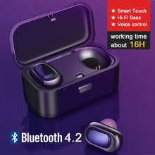 Wireless Earphones Bluetooth Earbuds with Microphone Power B