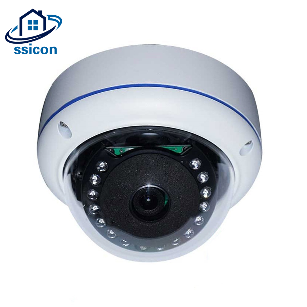 цена на SSICON 1080P Wide Angle Dome Fisheye IP Camera 180 Degree 360 Degree Panoramic Home Surveillance Camera With 15Pcs IR Leds