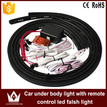 Tcart IP68 Waterproof 90 120 Colorful 5050 Chip led under car light Auto chassis light kit