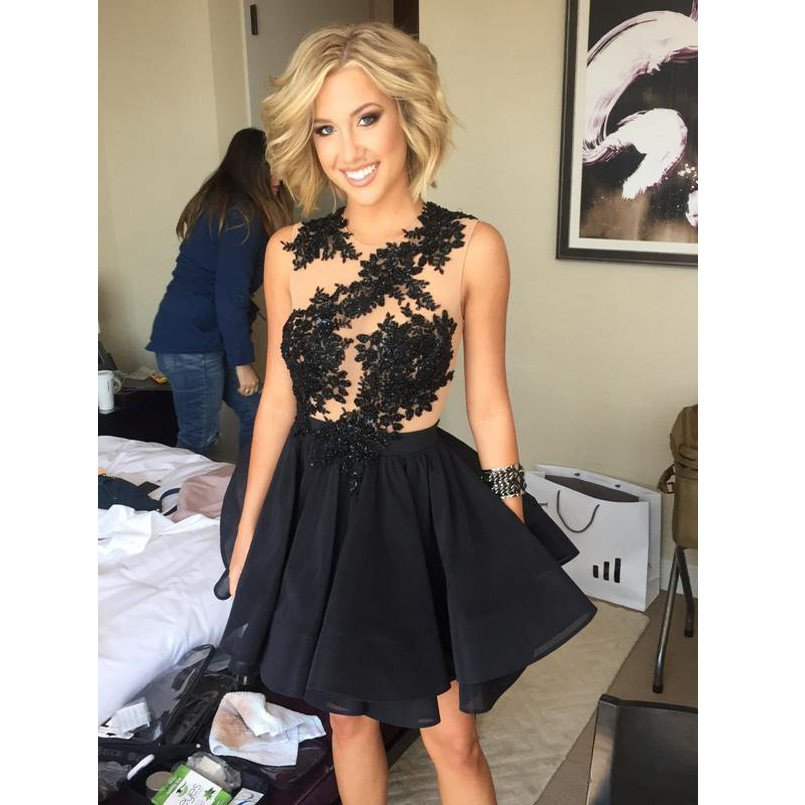 Black Homecoming Dress Promotion-Shop for Promotional Black ...