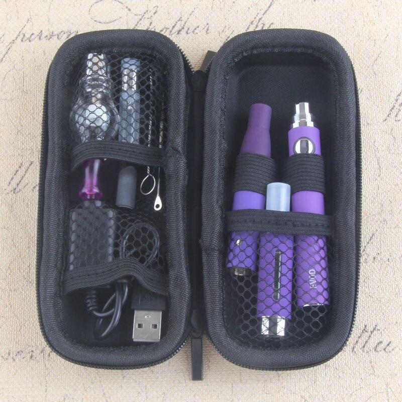 Yunkang 4 en 1 hierba seca vaporizador evod mini kit vaporizador de hierbas secas cera Vape pluma 650/900/ 1100 mAh batería MT3 CE3 atomizador