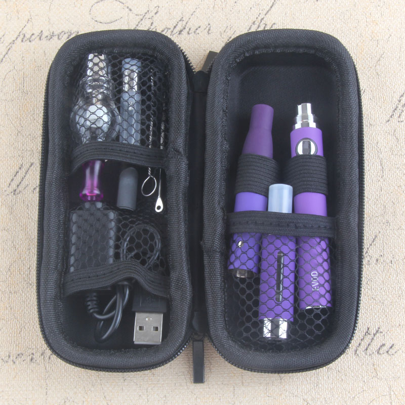 Yunkang 4 in 1 Dry herb vaporizzatore evod mini kit Erbe secco vaporizzatore wax penna Vape 650/900/1100 mah batteria MT3 CE3 atomizzatore