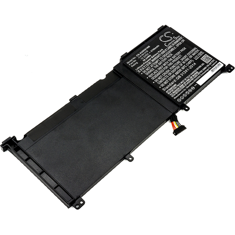 Cameron Sino Upgrade For Asus 0B200-01250100,C41N1416 Notebook, Laptop Battery Li-Polymer 3700mAh / 56.24WhCameron Sino Upgrade For Asus 0B200-01250100,C41N1416 Notebook, Laptop Battery Li-Polymer 3700mAh / 56.24Wh