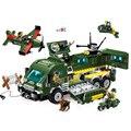 Leweihuan educativos diy bloques de construcción de juguete serie de vehículos blindados de combate militares ladrillos compatible con legoe para regalo de los cabritos
