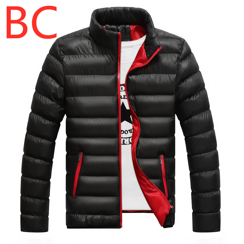 BC New Winter For Men's Ultralight Full Duck   Down   Outwear Men's Vest   down   jackets Outdoor Male Leisure Zipper Harajuku   Coats   Top