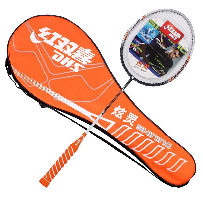 Amateur Junior Badminton Racket Aluminum Alloy One Racket Aluminum Elastic Type G3 Badminton Raquets