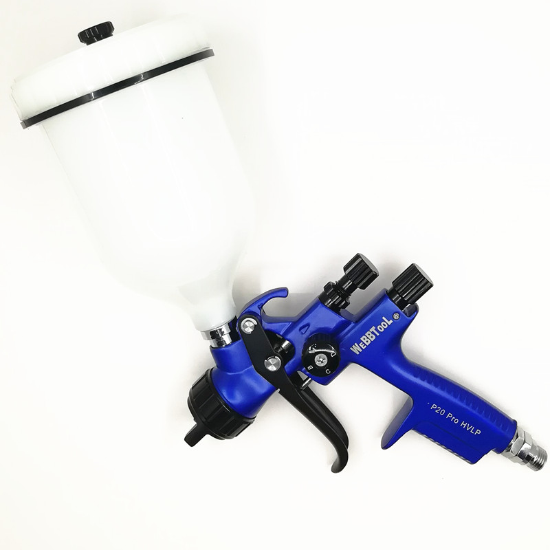 P20 Pro Gravity spray gun  car paint gun  painted high efficiency  HVLP  1.3mm Sprayer used as the spraying tool of furniture P20 Pro Gravity spray gun  car paint gun  painted high efficiency  HVLP  1.3mm Sprayer used as the spraying tool of furniture