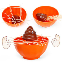 New Novelty & Gag Toys Funny Noodles Desktop Games Kids Puzzle Multiplayer Interact Feces Come To Bowl To Toys for Children games [a2 b1] come stai
