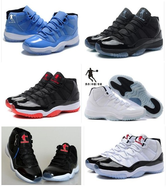 7c88e732946 6colors China qiaodan 11 legend blue 11 basketball shoe 11 Retro Bred top  quality Gamma Blue lady basketball shoes men and women