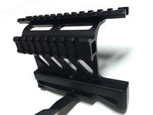 Tactical AK Serie Rail de Montaje Lateral Rápido Estilo 20mm QD Separar Weaver carril Lateral Doble AK Scope Sight Mounts Rifle