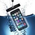 Ipx8 certificado caja del teléfono móvil impermeable del bolso seco para el iphone 6 s plus 6 s samsung s7 s6 hasta 5.5 pulgadas smartphone