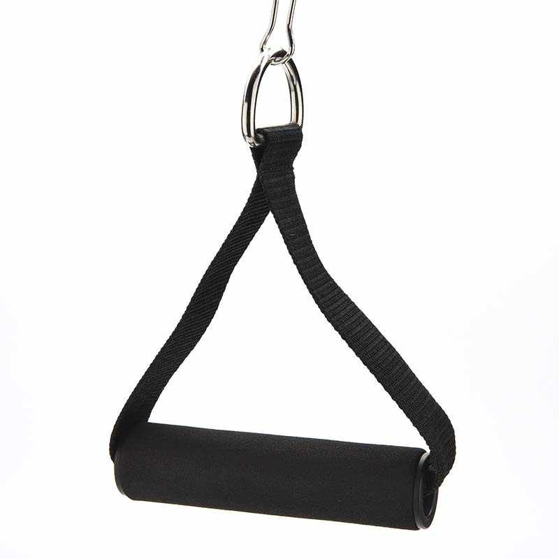 2X Pulldown Tricep Rope Cable Handle stand 70KG V Bar Dip Resistance Multi-Gy ZS