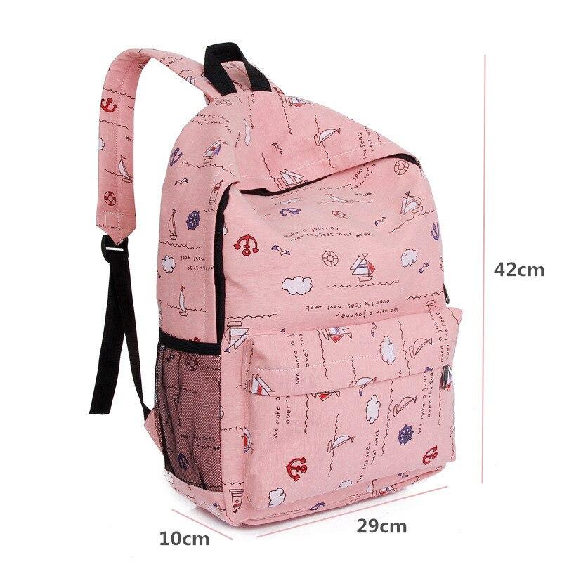 3d44c649519 Hot Sale 2018 Fashion Simple Korean Backpack For Teen Girl Cute ...