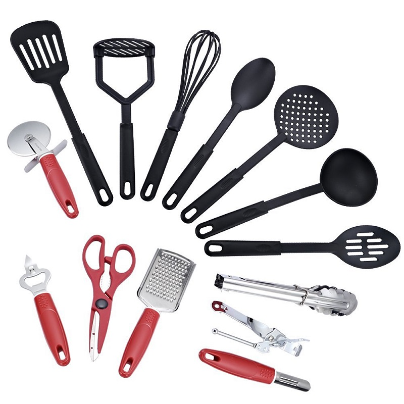 US $22.74 35% OFF|2018 New 14pcs Baking Set Hygienic Kitchen Accessories  Cooking Tools Utensils Whisk Basting Brush Spatulas Turner-in Cooking Tool  ...