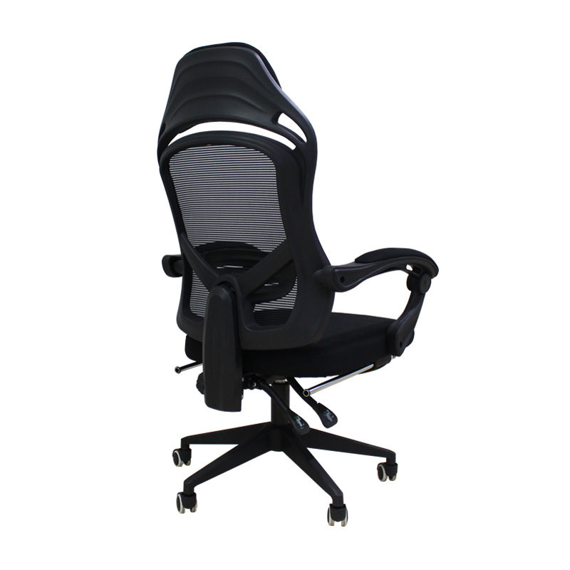 High Quality Live Silla Gamer Breathable Cushion Lacework Chair Ergonomics Can Lie Office Furniture Steel Feet With Footrest