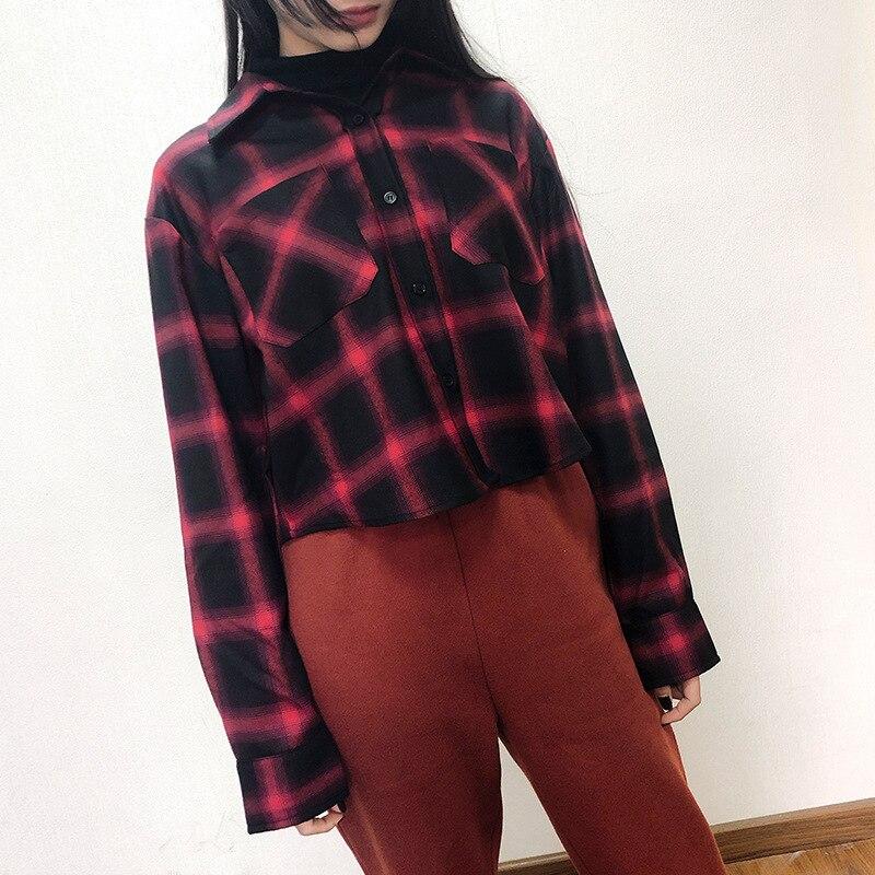 Printemps Mode Joker Bourgogne Grand 19 Un Jupes Avec Deux De Plaid Mot Faux Nouveau Défilé culottes Taille Jupe 5nA4IxHHqP