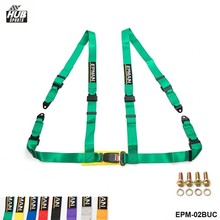 "Seat Belts Style Competition 4 Point Snap-In 2"" Seat Belt Racing Harness safety belt seat harness EPM-02BUC(China)"