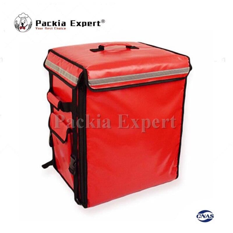 58L Red color 43*35*53cm Food carrier Backpack insulation bag, food package delivery pizza bag PEHS433553 46 26 46cm backpack insulation bag food package delivery pizza delivery bag