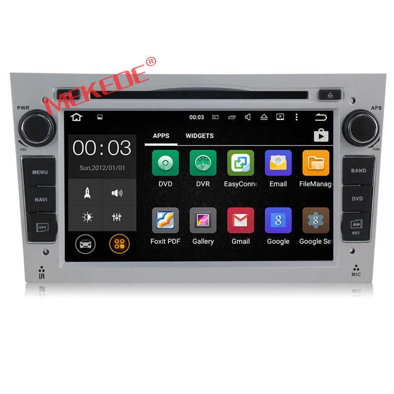 Android 7.1 Quad Core HD 1024*600 экран 2 Дин DVD GPS Радио стерео для Vauxhall Opel Astra h G J Vectra Антара Zafira Corsa