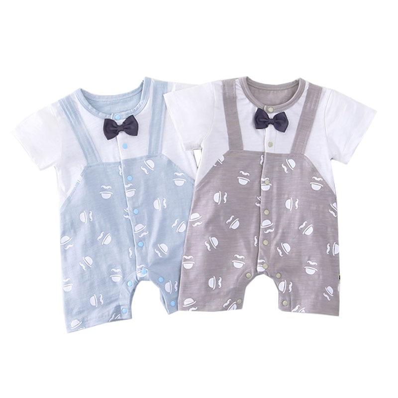 Newborn Infant Baby Boy Girl Romper 2018 New Hot Sale Short Sleeve Casual Jumpsuit Summer Bebes Infantil Clothes Outfits