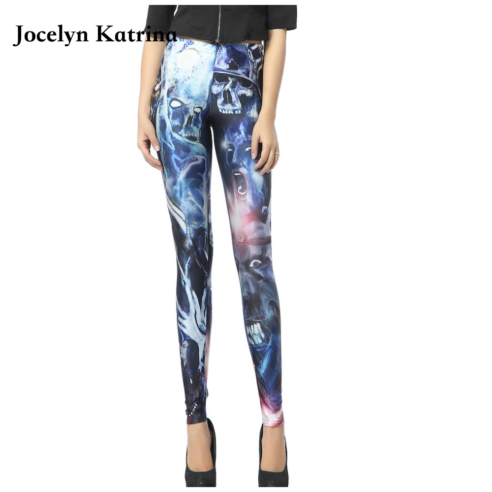Jocelyn Katrina Hot Selling Women High Waist Yoga Pants Sport Leggings Fitness Gym Slim Tights Color Workout Running Leggings